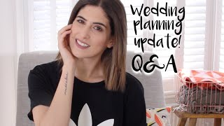Wedding Planning Update: Q&A | Lily Pebbles