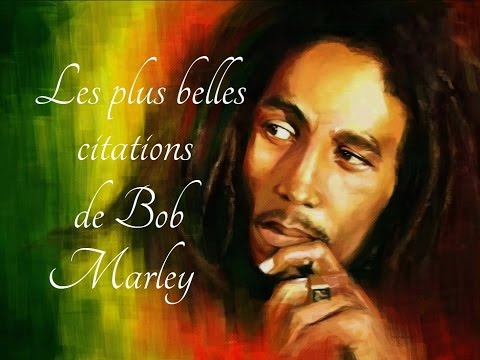 Les plus belles citations de Bob Marley