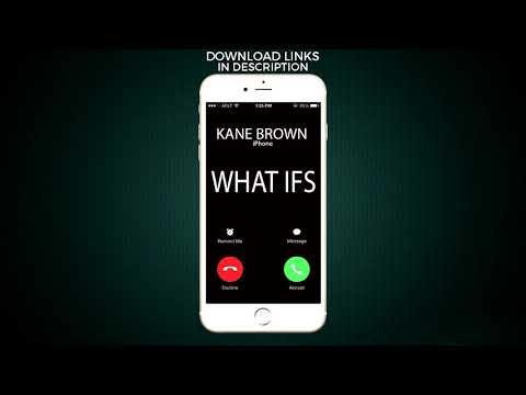 What Ifs Ringtone - Kane Brown feat. Lauren Alaina