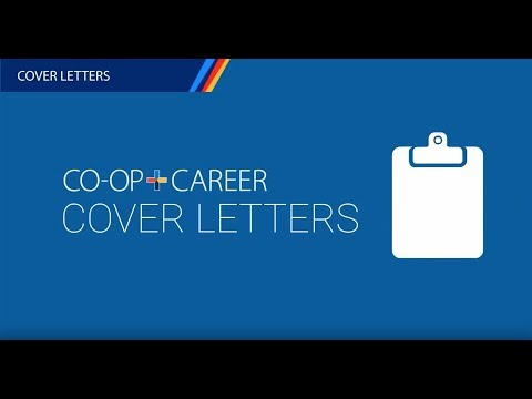 Cover letters - University of Victoria