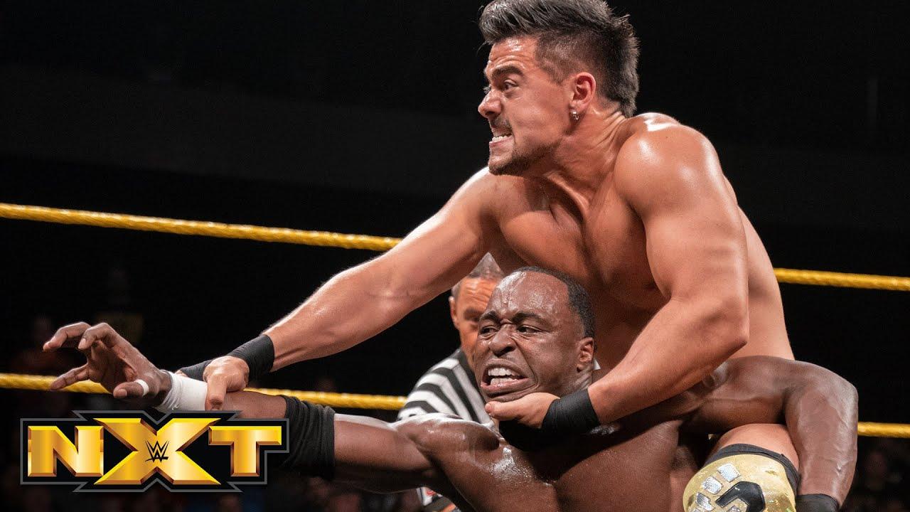 Jordan Myles vs. Angel Garza – NXT Breakout Tournament Semifinal Match: WWE NXT, July 24, 2019