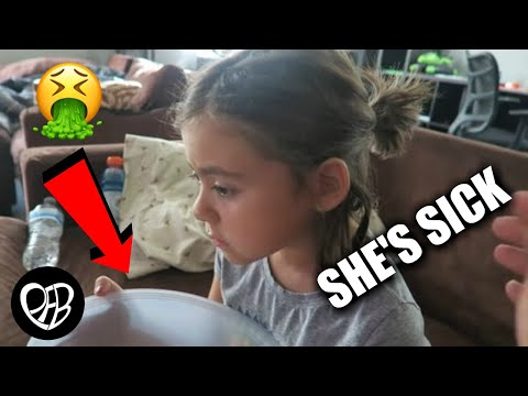 😩 SHE THREW UP | SICK WITH FEVER | THROWING UP EVERY 30 MINUTES | PHILLIPS FamBam Vlogs