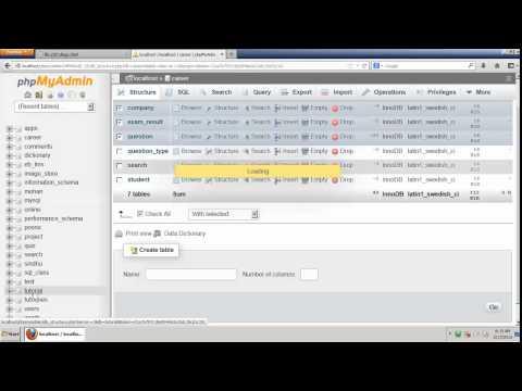 Create A database Using MySQL Tamil