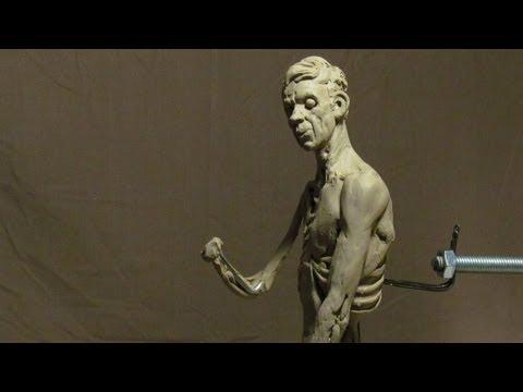 Sculpting With Lemon - Morning Joe - Fleshing in his Left Torso