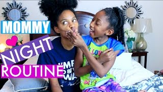 mommy night routine