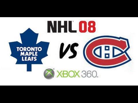 NHL 08 - Toronto Maple Leafs vs Montreal Canadiens