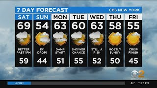 New York Weather: CBS2 10/23 Nightly Forecast at 11PM