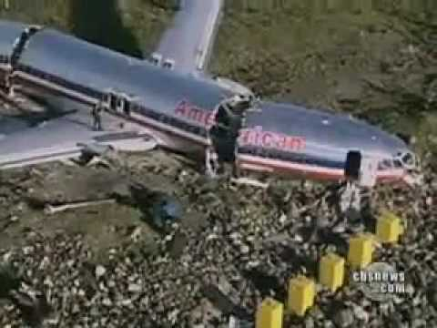 American Airlines Flight 331 Plane Crash At Jamaica Youtube