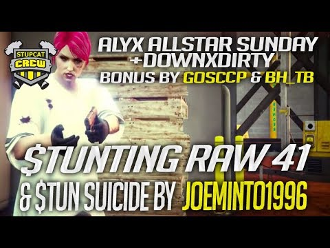 LIVE - GTA 5 ONLINE ​PS4 SERIES #303 STUNTING RAW 41 AND ALYX ALLSTAR SUNDAY 1080 HD 60FPS