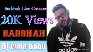 Dj wale babu live in concert Ahmedabad. badshah & aastha gill