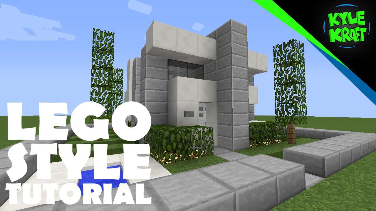 Minecraft Small Modern Survival House Minecraft Tutorial