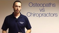 London Osteopath: What's The Difference Between An Osteopath and a Chiropractor