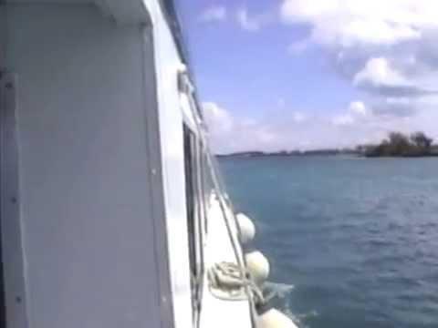 Somerset Village, Bermuda - Sailing off the coast of Bermuda (2003)