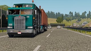 Trying Kenworth K100 in ETS 2
