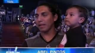 Soñando por cantar  - Abel Pintos sorprendió a Victoria Ses
