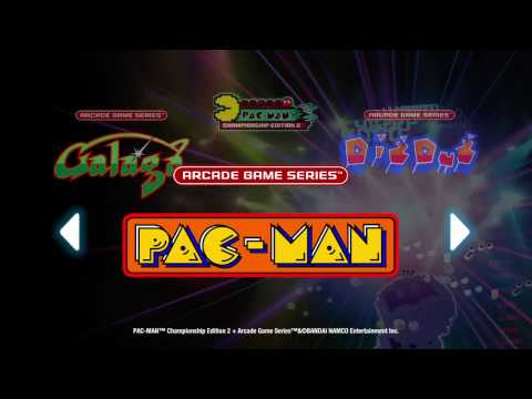 PAC-MAN Championship Edition 2 + Arcade Game Series (PS4)- Pac Man Gameplay Footage