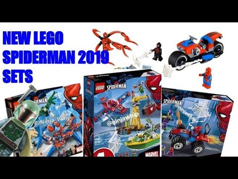 new lego spiderman 2019 sets youtube. Black Bedroom Furniture Sets. Home Design Ideas