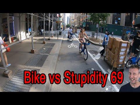 Bike vs Stupidity