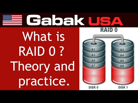 What is RAID 0 theory and practice final