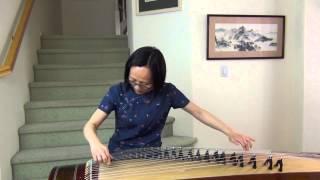 Respect - Shaanxi Folk Song(Nan Ni Wan)  Victorias Guzheng Practice