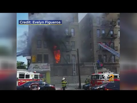 Fire Sweeps Through Bronx Apartment Building