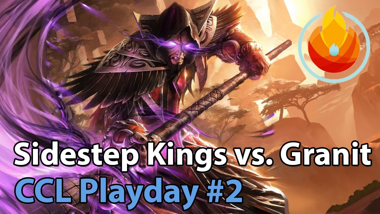 CCL: Sidestep Kings vs. Granit Gaming - Heroes of the Storm Tournament