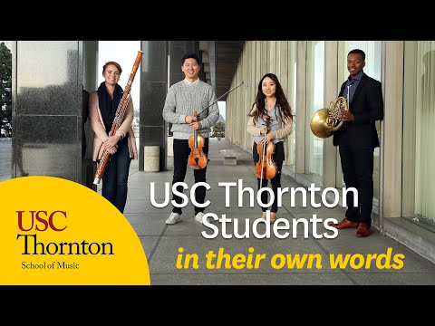 USC Thornton Students: In Their Own Words