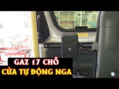 Cửa tự động chính hãng Gaz 17 chỗ    Rambo Auto    Khác biệt hàng theo xe