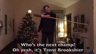 Best Survivor Audition Video Trent Brookshier 20th try out rap song