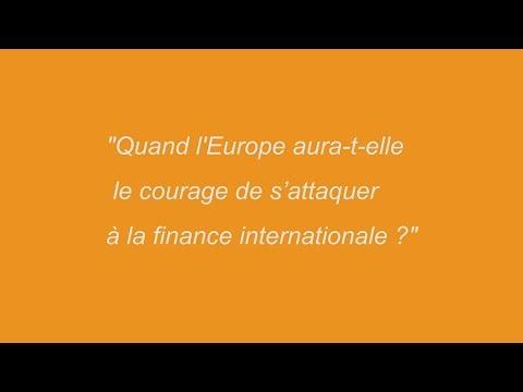 S'attaquer à la finance internationale : Chantal Hughes répond aux citoyens