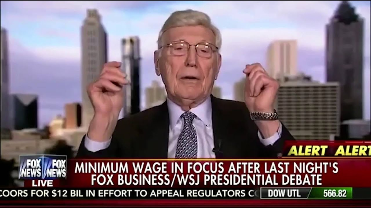 Bernie Marcus discusses Minimum Wage - YouTube