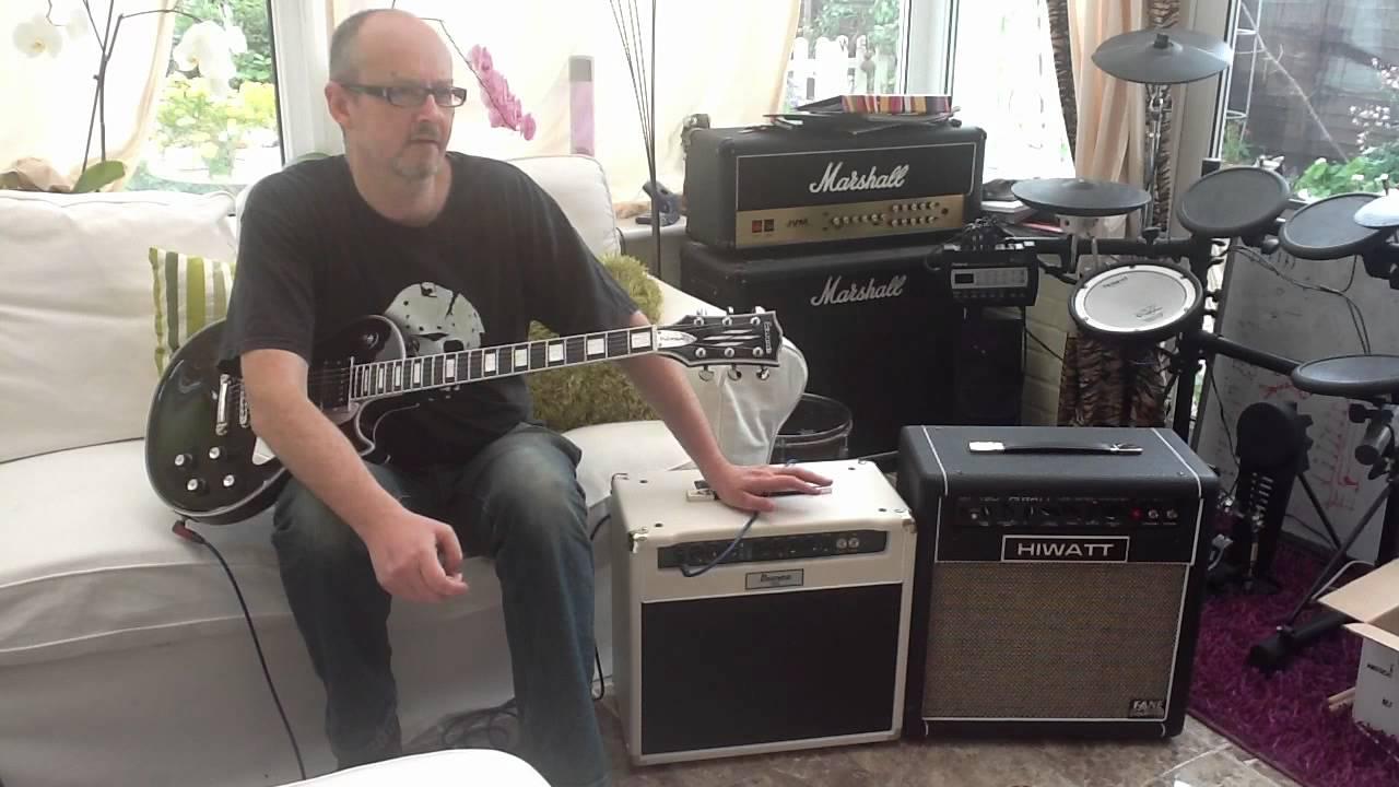 guitarshak amp shootout ibanez tsa 30 v hiwatt t20 guitar combo amps youtube. Black Bedroom Furniture Sets. Home Design Ideas