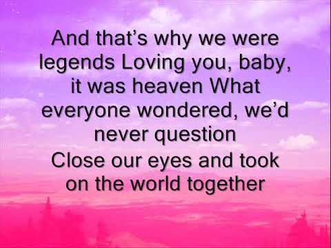 kelsea ballerini legends lyrics