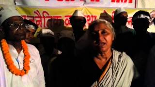 Medha Patkar appeals to Donors for Prof Kishori Das SITAMARHI (Bihar)