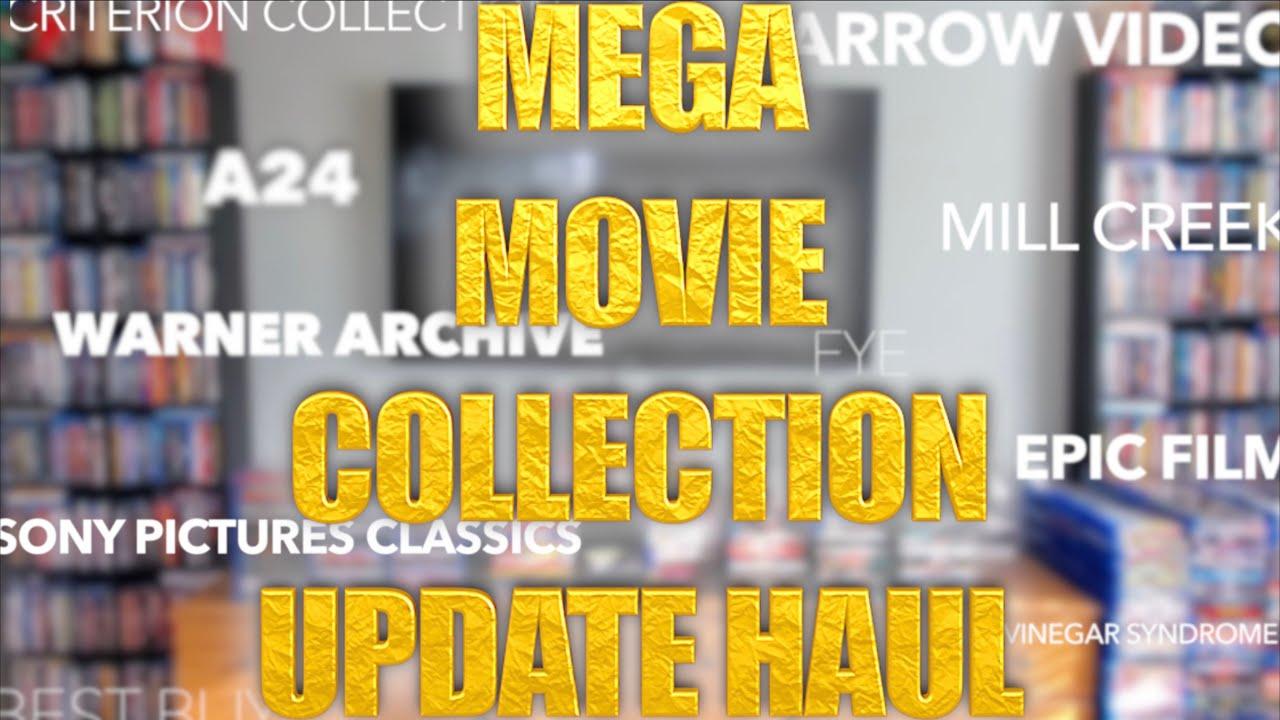 MEGA MOVIE COLLECTION UPDATE - 140+ Blurays, 4Ks, A24, Criterion, Arrow, Warner & MORE! | BLURAY DAN