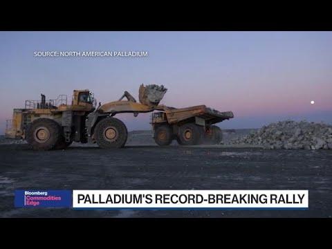 Palladium Tops $2,000 in Record-Breaking Rally