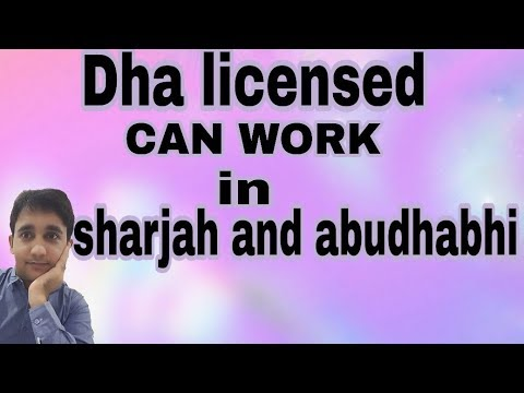Dha licensed can work anywhere in UAE | know how ???| Nursing King