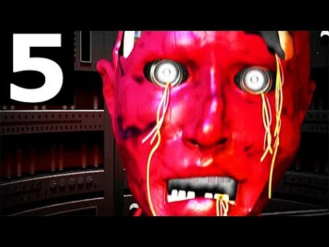 JOLLY 3: Chapter 2 - Night 5 - Walkthrough Gameplay Part 5 (No Commentary) (FNAF Horror Game 2018)