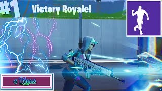 Fortnite Battle Royale *WILDE PACK BACKBLING WITH TEKNIQUE*
