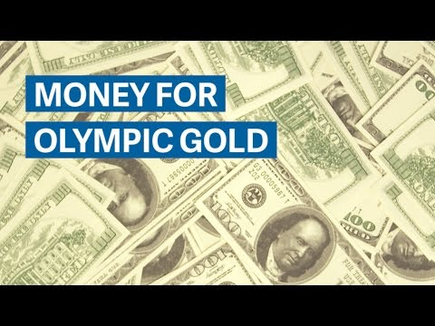 What countries pay for Olympic gold medals