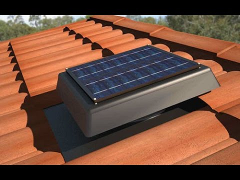 House Solar Roof Ventilator