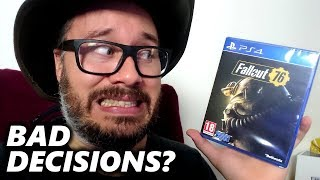 I'M AN IDIOT (Fallout 76 Edition) | Not A Review