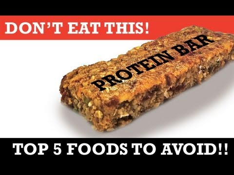 """5 Unhealthy """"HEALTH"""" FOODS (What NOT to"""