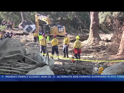 At Least 18 Killed In Southern California Mudslides
