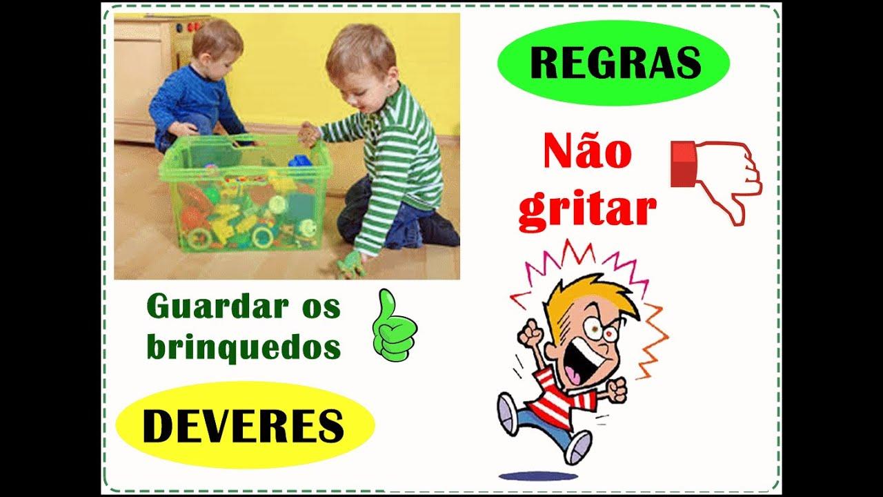 Muitas vezes REGRAS E DEVERES - COMO EDUCAR SEU FILHO - EDUCAÇÃO  KV57