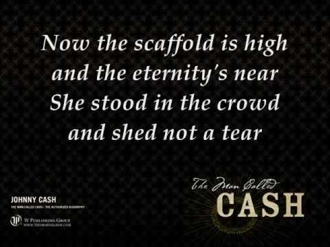 Johnny Cash - The long black veil lyrics - YouTube