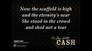 Johnny Cash - The long black veil lyrics