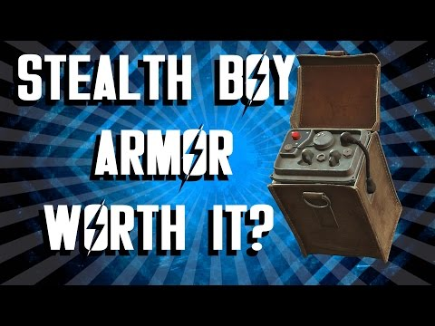 Fallout 4 - Stealth Boy Power Armor - Is It Worth It?