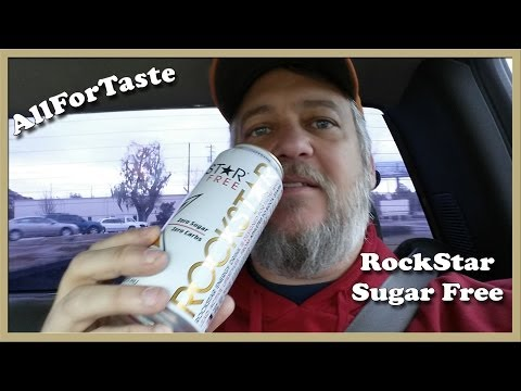 Energy Drink Project - Rockstar Sugar Free