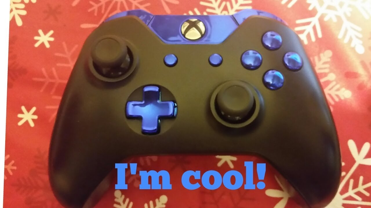 How to replace the buttons on an XBOX One Controller
